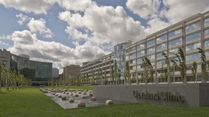 an image showing new global center for pathogen research and human health at the Cleveland Clinic