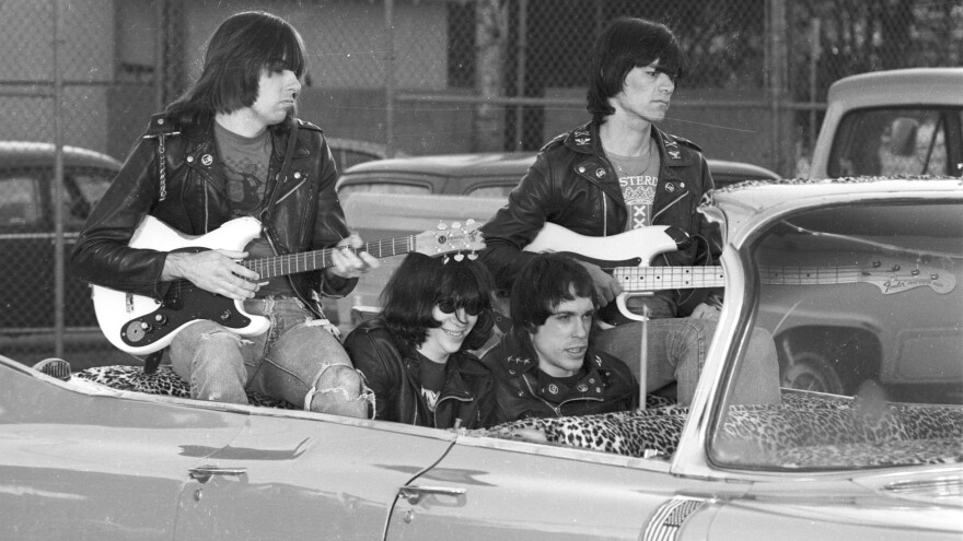 The Ramones, seen here in an undated photo, have been honored by having a second street in New York City renamed for them.