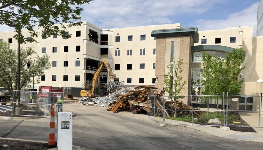 Demolition of Good Samaritan Hospital has begun with the facility's former Dayton Heart & Vascular Hospital at Good Samaritan, which was established in 2009.