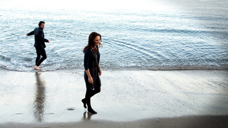 Christian Bale stars as Rick and Natalie Portman as Elizabeth in Terrence Malick's drama <em>Knight of Cups</em>.