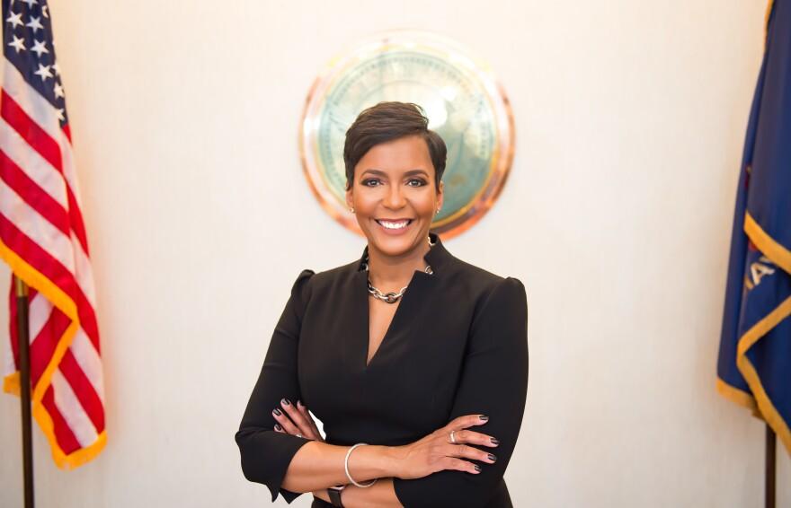 "Atlanta Mayor Keisha Lance Bottoms tells NPR she ""remains concerned"" about Georgia reopening."