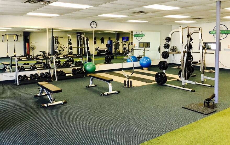 Freq Fit is a relatively new personal training facility in Kettering. The gym has everything you'd expect: free weights, treadmills, step climbers and other weight machines. The gym has another piece of equipment that you're unlikely to find anywhere else