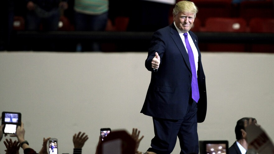 Donald Trump is hoping he can rewrite the GOP's electoral math if he becomes the party's presidential nominee.