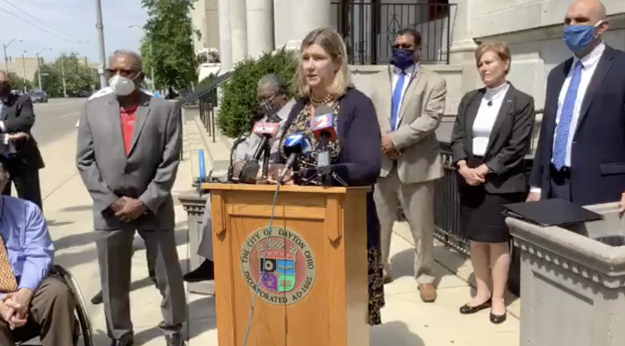 Mayor Nan Whaley announced 5 steps the city plans to take to improve the police department.