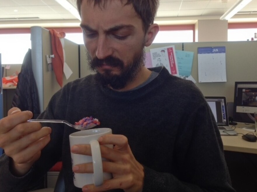 Ian is suspicious of any weaponized cereal.