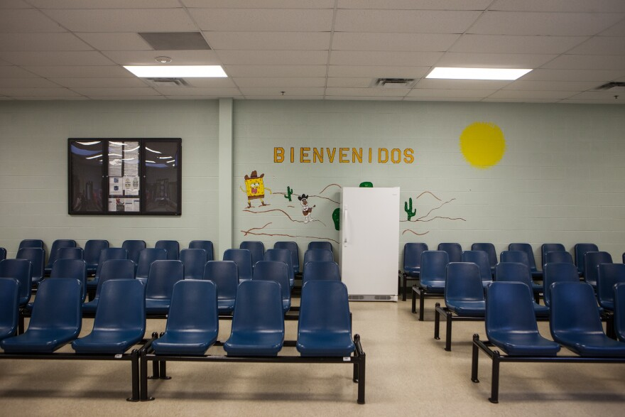 Karnes Detention Center after it was renovated in 2014.