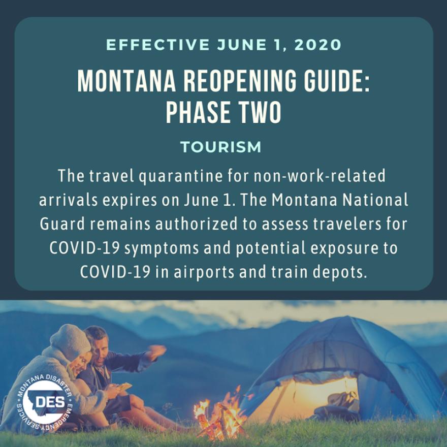Montana Phase 2 Tourists
