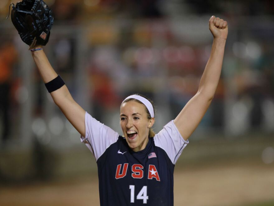 Pitcher Monica Abbott helped the U.S. softball team to a gold medal in the women's softball world championship in July 2010. Now she has signed a record-breaking contract with the Scrap Yard Dawgs, a team in the National Pro Fastpitch league.