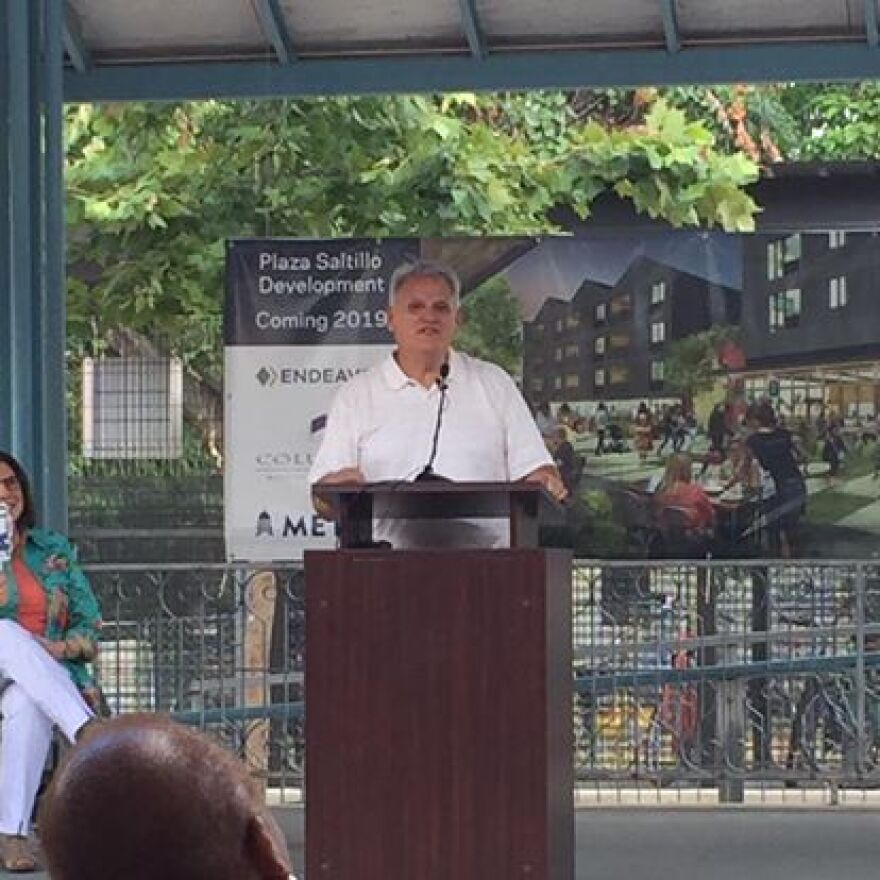 Limón was on the community advisory board for the Plaza Saltillo redevelopment.