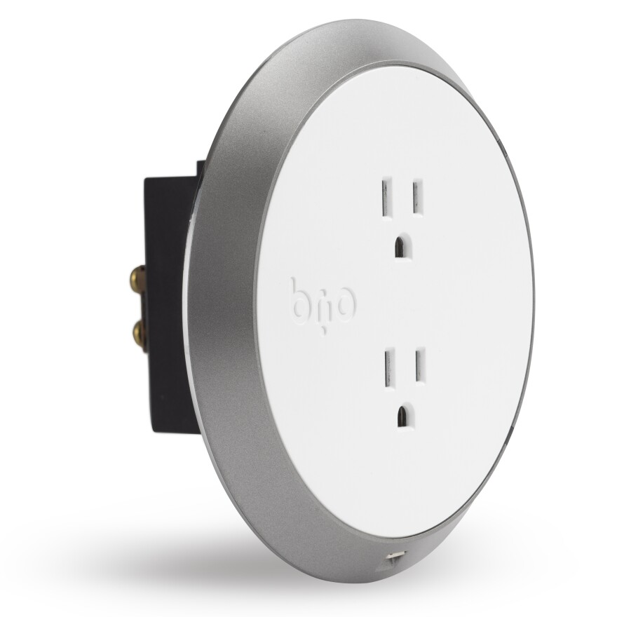 The Brio Smart system combines a smartphone app with the Brio Safe and Smart outlets to protect from electrical shock and sense floods, fires and carbon monoxide leaks in the home.