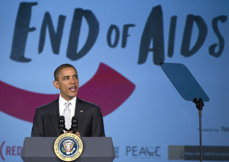 President Obama marked World AIDS Day Thursday by announcing plans to boost U.S. efforts to fight AIDS at home and abroad.