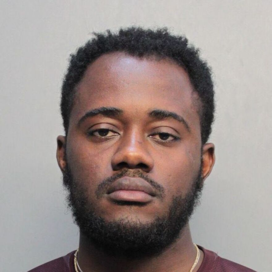 Miami-Dade police arrested Carlints St. Louis on Tuesday. Authorities say he committed a July shooting that wounded a 68-year-old man as he was walking to a Miami synagogue.