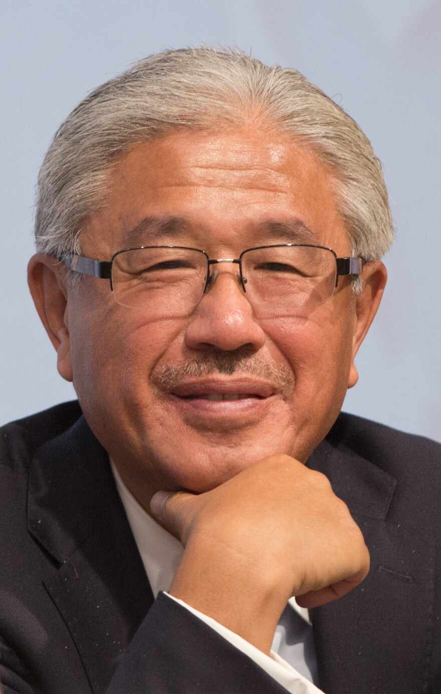 Dr. Victor Dzau, president of the National Academy of Medicine, attends the 2015 World Health Summit in Berlin, Germany.