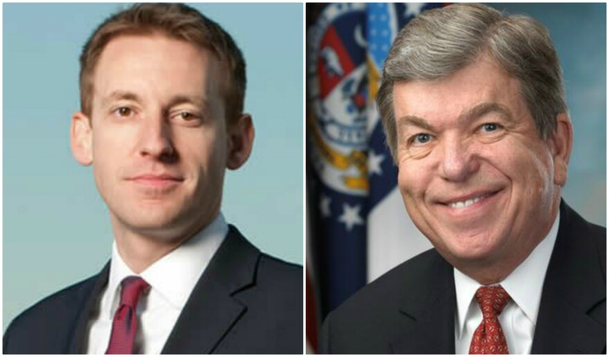 Missouri Secretary of State Jason Kander and U.S. Sen. Roy Blunt are the front runners for the Democratic and Republican nominations in the next Senate race.