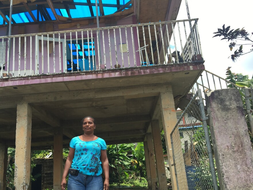 It took Rafaela Serrano eight months to save enough to fix her home. She's finally got the money, but says she'll wait until the end of the next hurricane season, just in case.