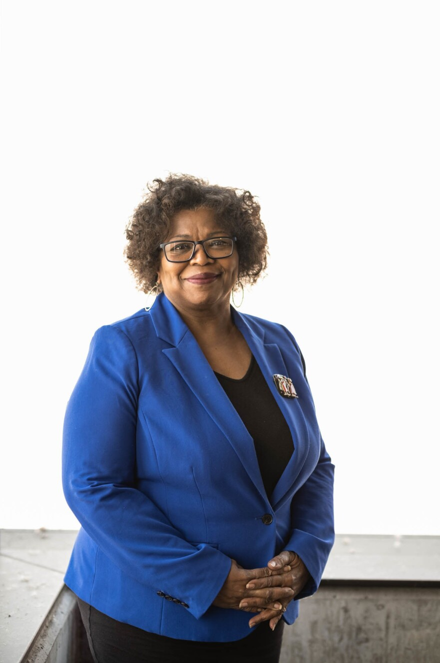 """Stella Whitney-West has been CEO of NorthPoint Health & Wellness Center for the last 16 years. """"Our staff is reflective of our community that we serve,"""" she says."""