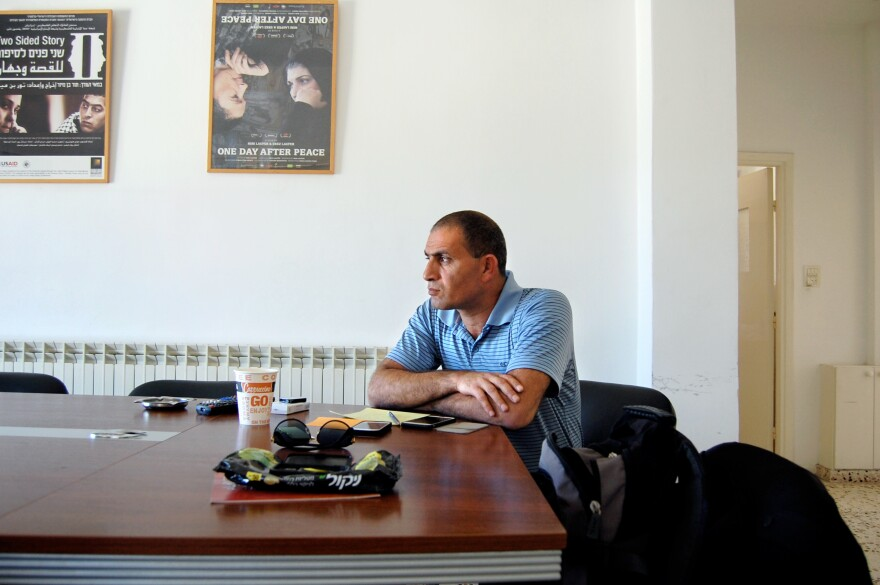Bassam Aramin, 46, grew up hating Israel and spent seven years in an Israeli prison. But he gradually came to believe that negotiation, not violence, was the only way to resolve the conflict.