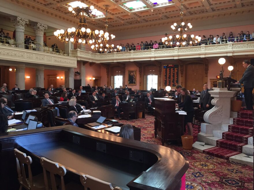 photo of Ohio House chambers