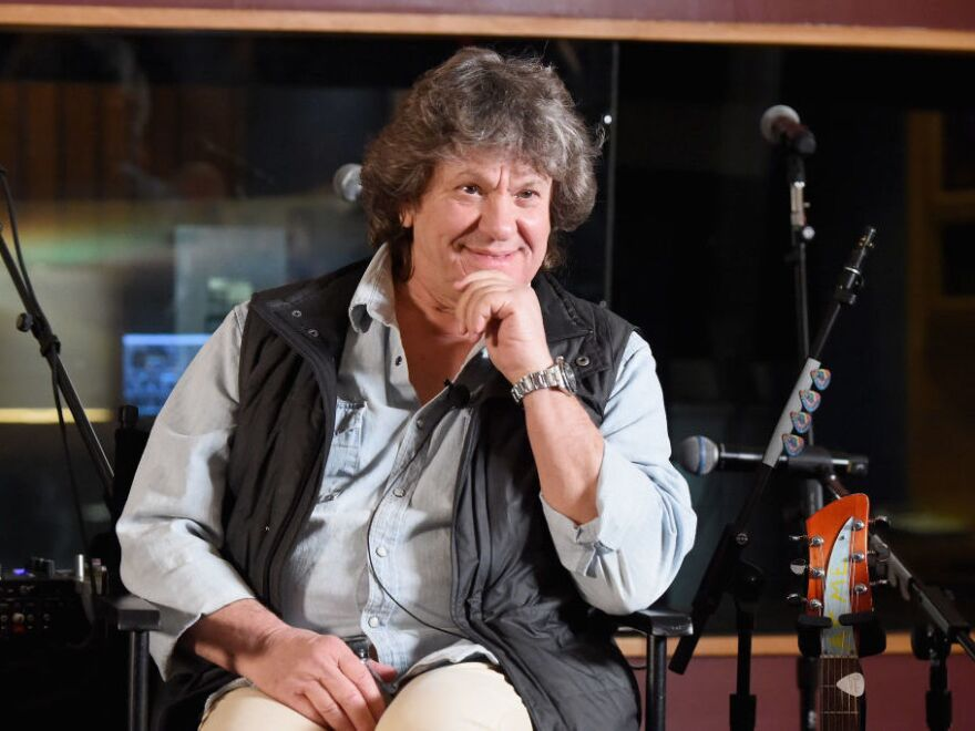 Michael Lang in New York City this March, at a press event announcing the planned artist lineup for the Woodstock 50 music festival.