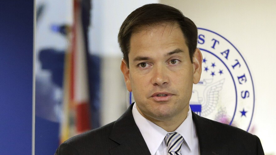 Sen. Marco Rubio, R-Fla., announced Wednesday he is running for re-election to his Florida Senate seat.