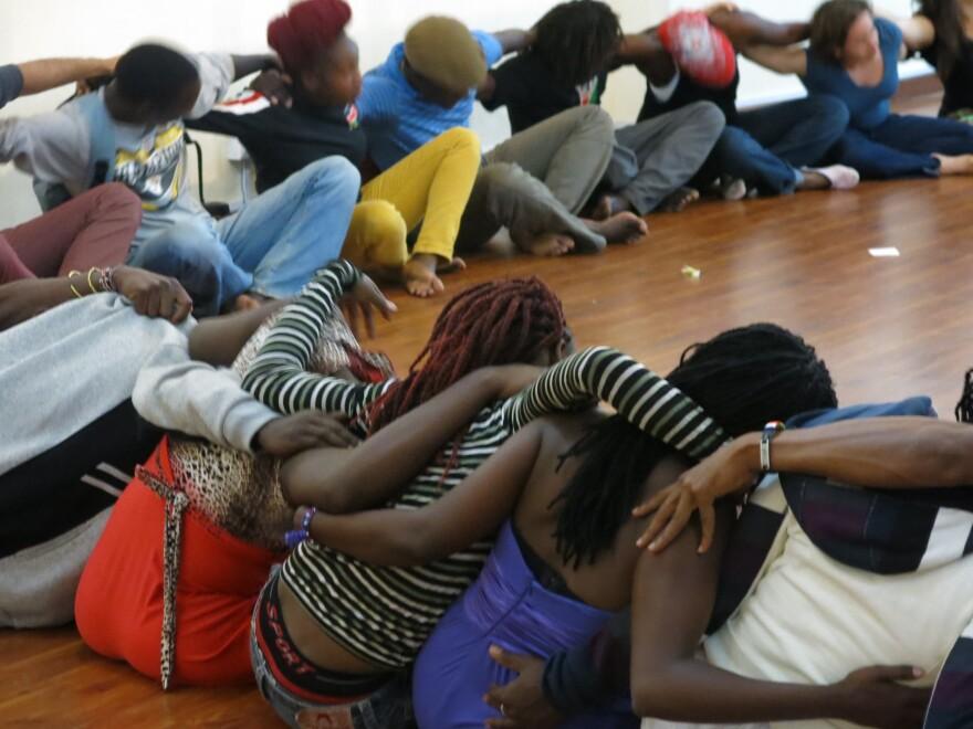 Circle of Thanksgiving in Kenya.