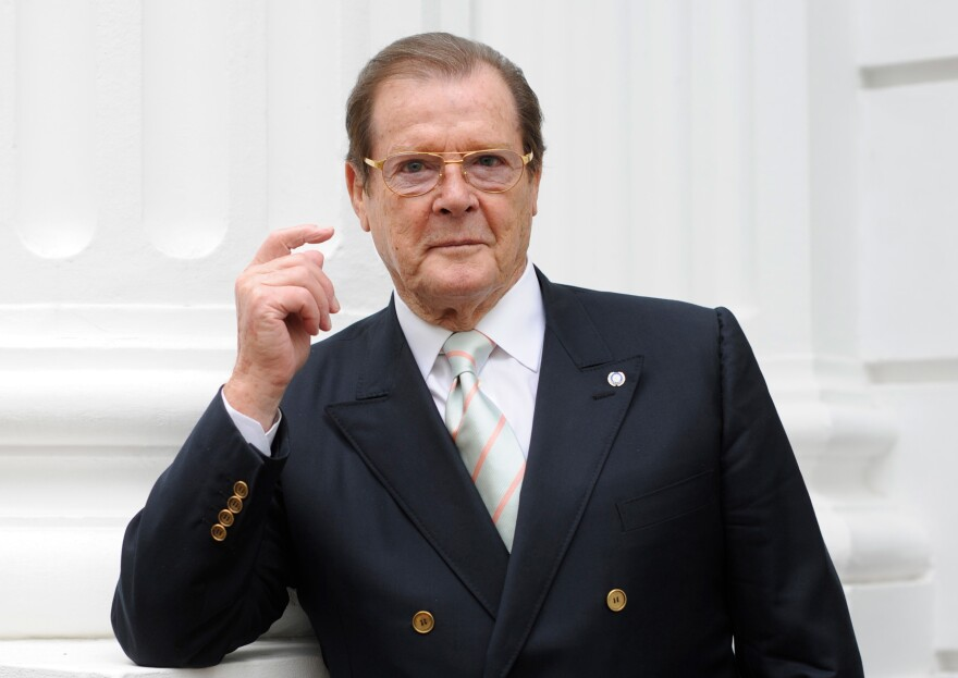 "British actor Sir Roger Moore has died at 89, after ""a short but brave battle with cancer,"" according his family and his agent."