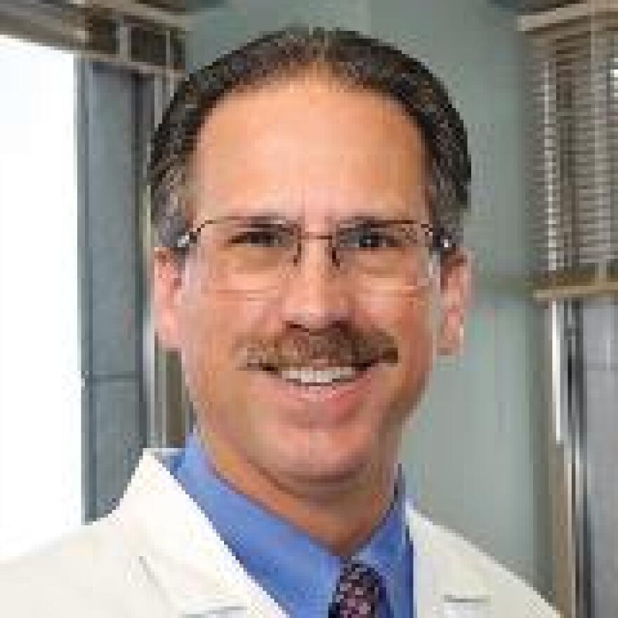 Premier EMS Medical Director Randy Marriott, MD.