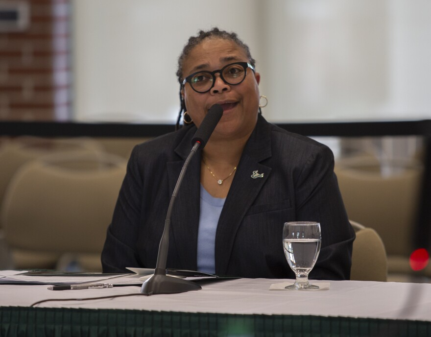"Rutgers University – New Brunswick interim provost Wanda Blanchett told trustees she believes she and USF ""could do great things together."""