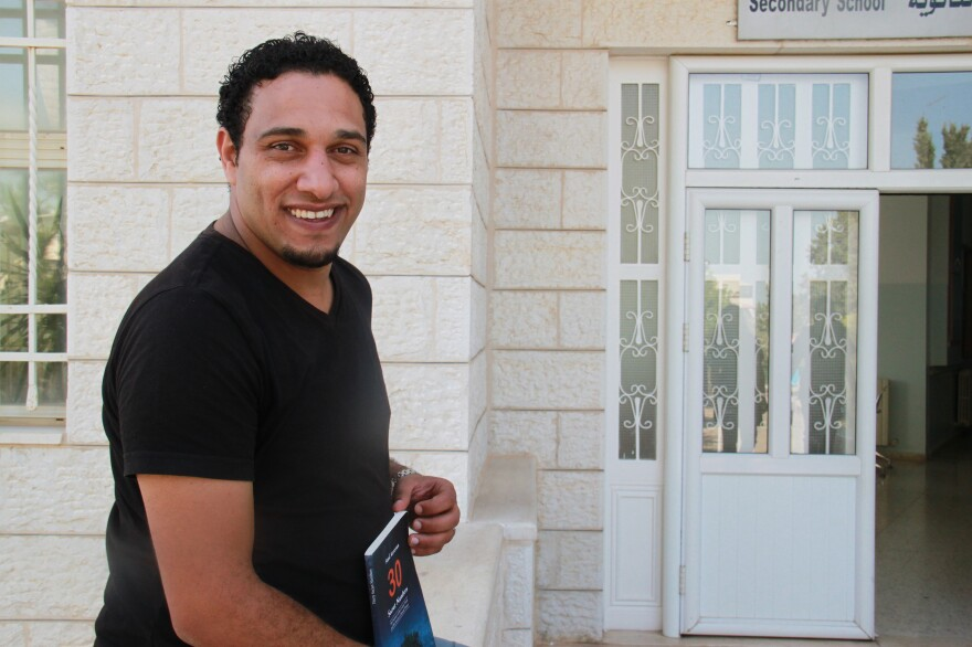 Palestinian Saed Karzoun, 31, is a motivational speaker who preaches positive thinking in the West Bank. He acknowledges it's a hard sell, with many Palestinians saying they are depressed about the present and pessimistic about the future.