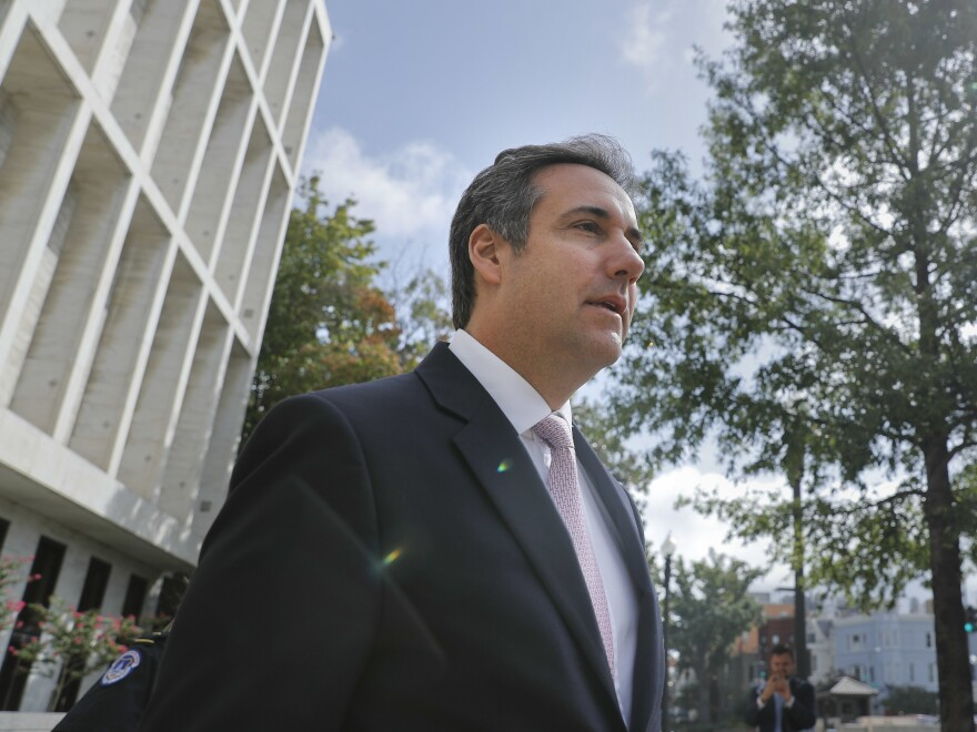 Federal investigators have seized materials from the offices of President Trump's personal attorney, Michael Cohen. Some of them may be protected by attorney-client privilege — but some may not.