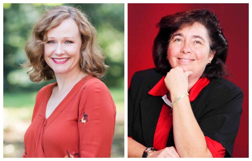 Democrat Kelli Dunaway and Republican Amy Poelker are squaring off in next Tuesday's election for the 2nd County Council District.