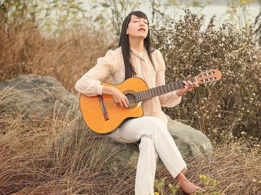 Musician Diana Gameros