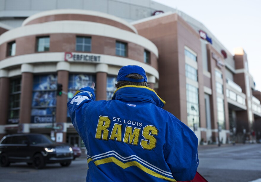 The future of the Edward Jones Dome is a big topic of discussion now that the St. Louis Rams are gone -- especially since there's outstanding debt on the facility.