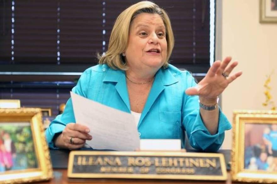 Congresswoman Ileana Ros-Lehtinen will retire next year.