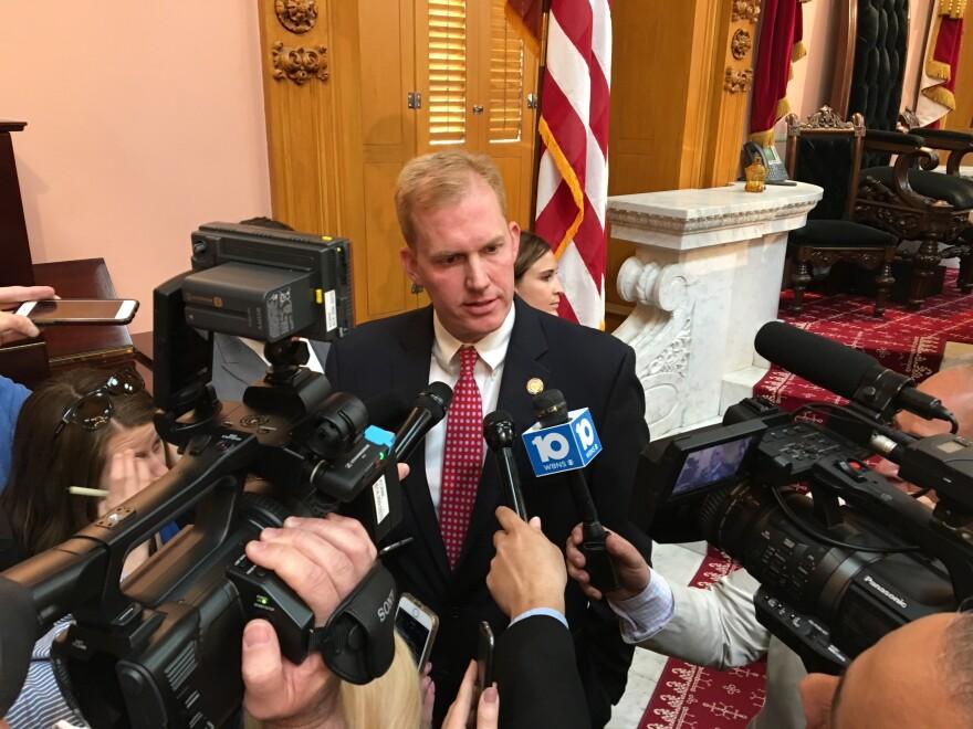 A photo of former Ohio House speaker Ryan Smith