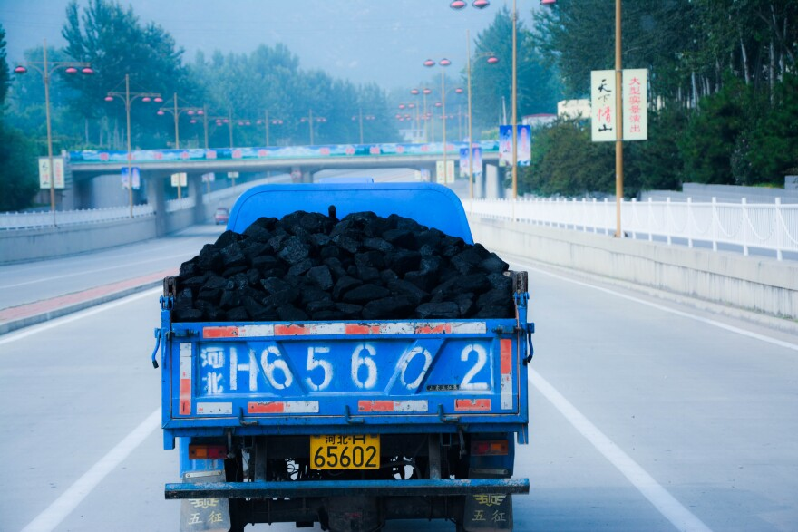 China is suffering greatly from the effects of air pollution, much of it coming from its reliance on coal for electricity