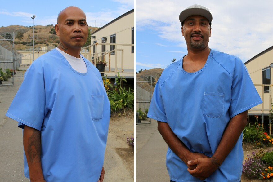 <strong>Left: </strong>Phoeun You earned his associate degree in June.<strong> Right:</strong> Jerome Boone earned his associate degree in June through PUP and the for-profit Patten University.