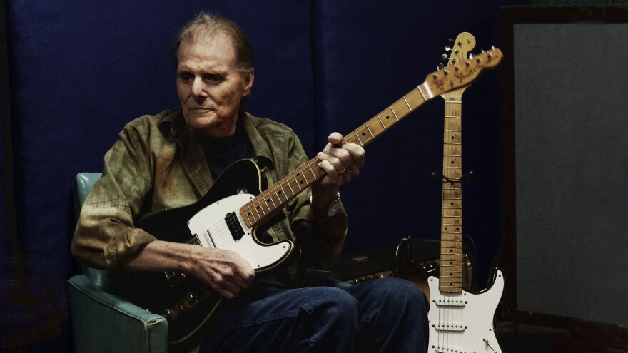 Guitarist Reggie Young, pictured in 2017, died Jan. 17 of heart failure.