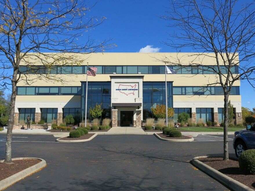 Murray Energy Corporation headquarters in St. Clairsville, Ohio. As the largest privately owned coal company in the country it employees about 7,000 people.