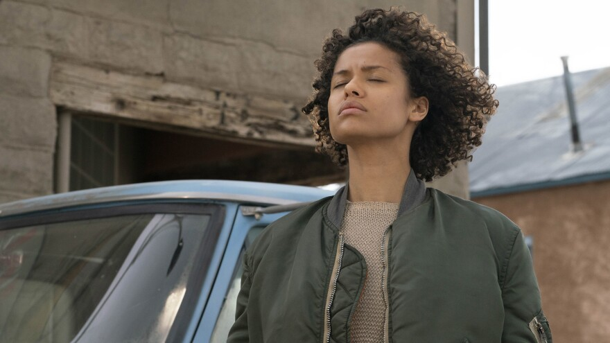 Gugu Mbatha-Raw stars as Ruth, a woman who must learn to harness her inherited supernatural powers, in <em>Fast Color.</em>