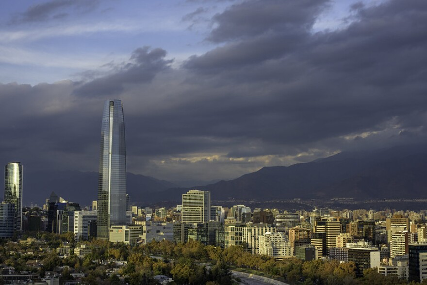 Santiago, Chile skyline