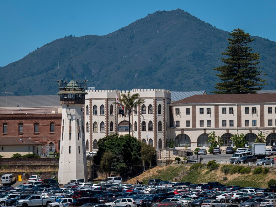 San Quentin State Prison in California is among several across the U.S. that have experienced coronavirus outbreaks.