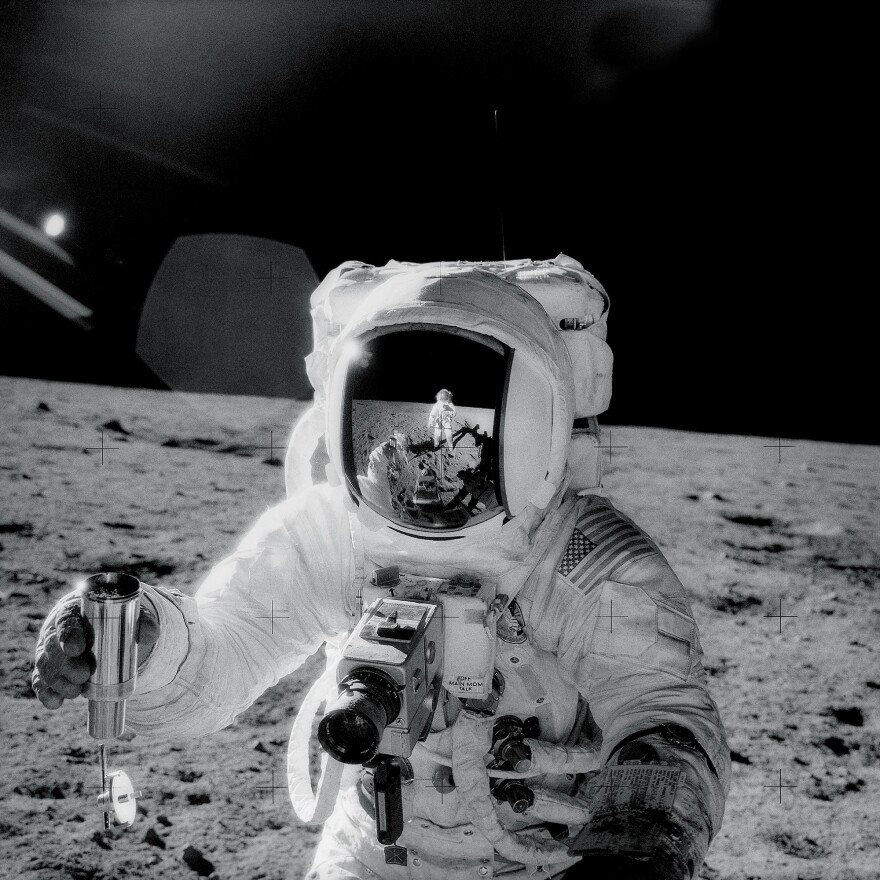 Alan Bean and Pete Conrad were the third and fourth people to walk on the moon.