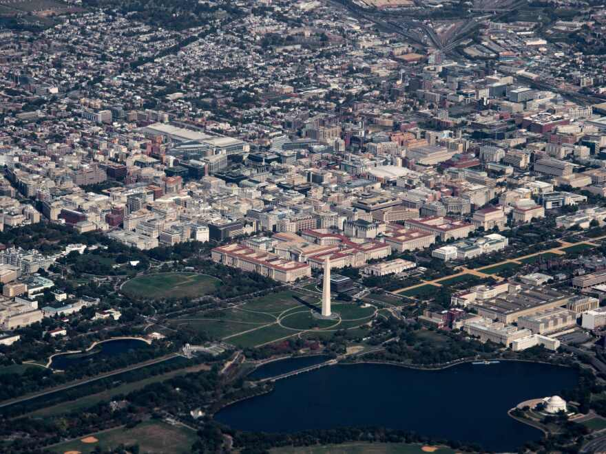 Washington, D.C., is competing against its suburbs in Virginia and Maryland for Amazon's second headquarters.