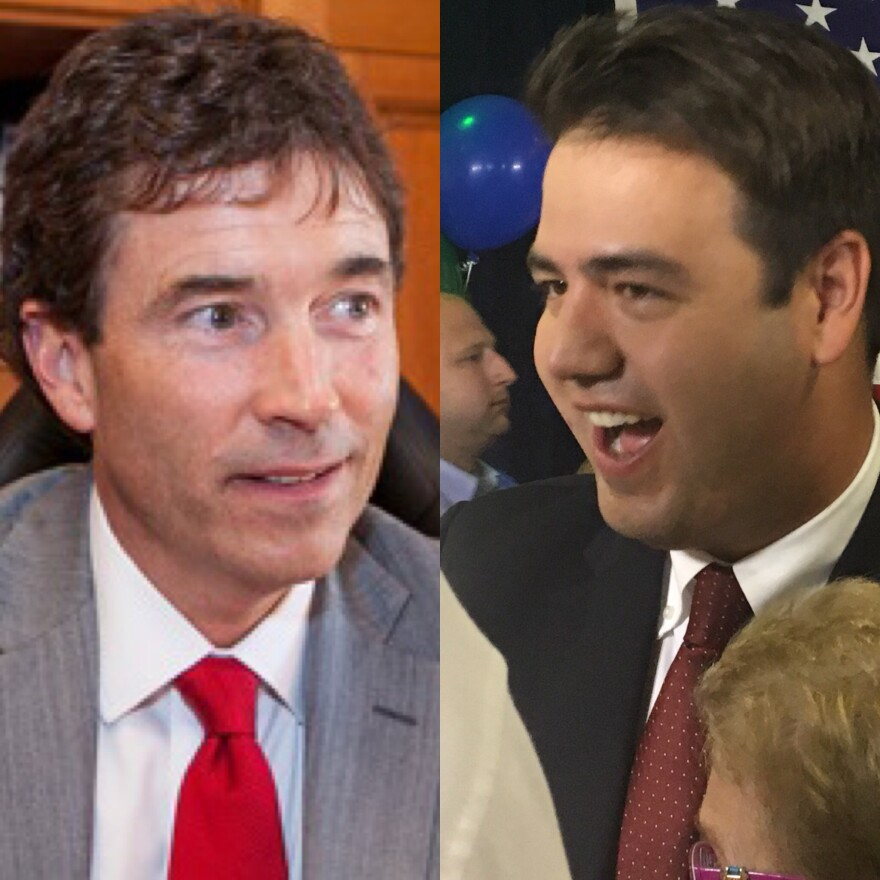 photo of Troy Balderson and Danny O'Connor
