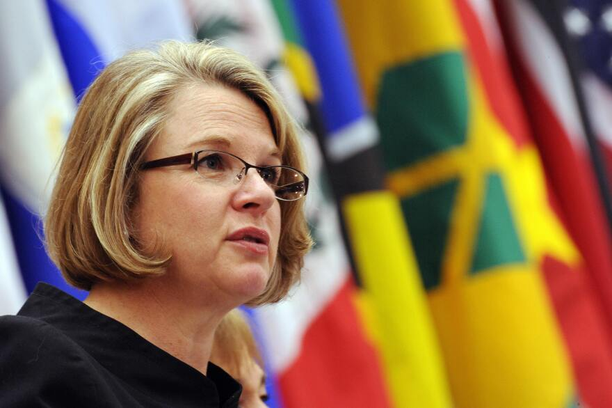 Margaret Spellings was the U.S. education secretary under George W. Bush from 2005-2009.
