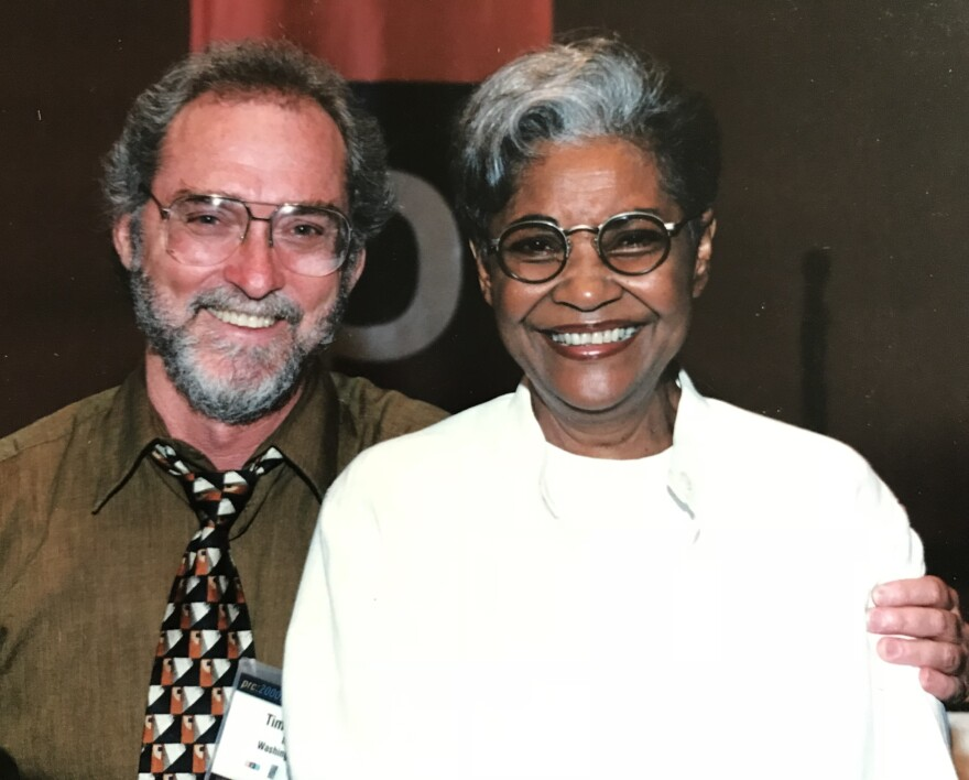 Tim Owens and Nancy Wilson, photographed in 1998.