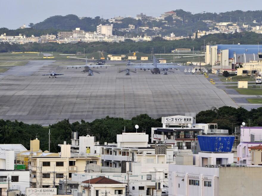 U.S. Marine Corps Air Station Futenma in Okinawa, Japan.