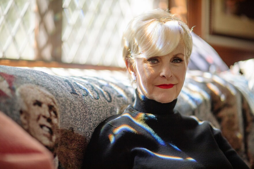 "Cindy McCain, widow of late Sen. John McCain, at home in Phoenix. She says she thinks Republicans and Democrats can get back to being more civil. ""I think it's going to take some time. There's a lot of healing to be done. But I think we can do it,"" she says."