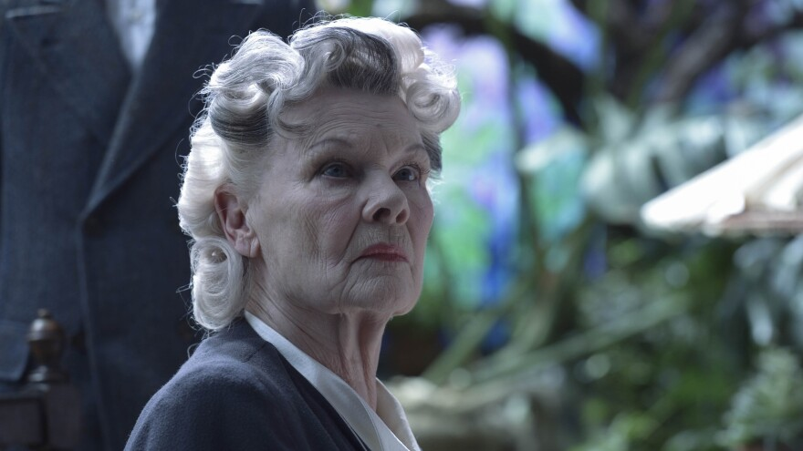 Dame Judi Dench as the mysterious mentor Miss Avocet in <em>Miss Peregrine's Home for Peculiar Children.</em>